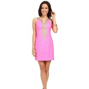 Lilly Pulitzer Emery Shift Dress Pink